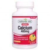 Nature's Aid Calcium (Chewable) 400mg (with Vitamin D3) Tablets 60