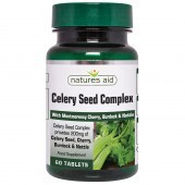 Nature's Aid Celery Seed Complex with Montmorency Cherry, Burdock & Nettle Tablets 60