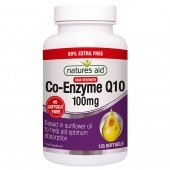Nature's Aid COQ-10 100mg (Co-Enzyme Q10) Softgels 135
