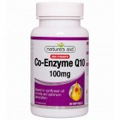Nature's Aid CoQ-10 100mg (Co-Enzyme Q10) Softgels 30