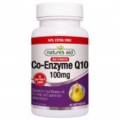 Nature's Aid COQ-10 100mg (Co-Enzyme Q10) Softgels 45