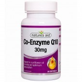 Nature's Aid COQ-10 30mg (Co-Enzyme Q10) Softgels 30