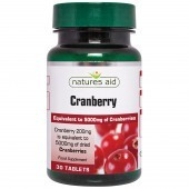 Nature's Aid Cranberry 200mg Tablets 30