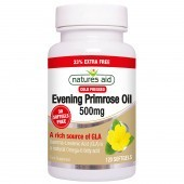 Nature's Aid Evening Primrose Oil 500mg (Cold Pressed) Softgels 120