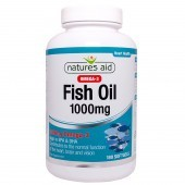 Nature's Aid Fish Oil 1000mg (Omega-3) Softgels 180