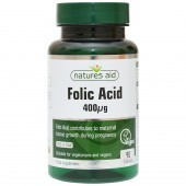 Nature's Aid Folic Acid 400ug Tablets 90
