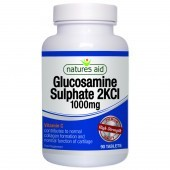 Nature's Aid Glucosamine Sulphate 1000mg (with Vitamin C) Tablets 90
