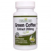 Nature's Aid Green Coffee Extract 200mg (Svetol) Tablets 60