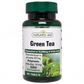 Nature's Aid Green Tea 10,000mg Tablets 60