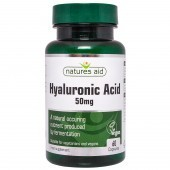 Nature's Aid Hyaluronic Acid 50mg Capsules 60