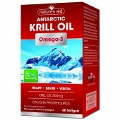 Nature's Aid Krill Oil 500mg Softgels 60