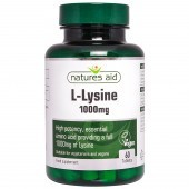 Nature's Aid L-Lysine 1000mg Tablets 60