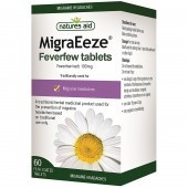 Nature's Aid MigraEeze Feverfew 100mg Tablets 60
