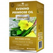 Nature's Aid Organic Evening Primrose Oil Capsules 90