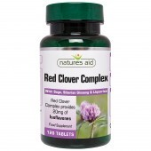 Nature's Aid Red Clover Complex with Sage, Siberian Ginseng & Liquorice Tabs 120