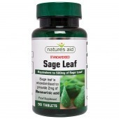Nature's Aid Sage Leaf 50mg Tablets 90