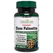 Nature's Aid Saw Palmetto 500mg Tablets 90