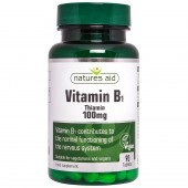 Nature's Aid Vitamin B1 100mg Tablets 90