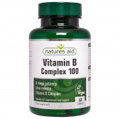 Nature's Aid Vitamin B Complex 100 Time Release (Mega Potency) Tablets 60