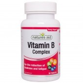 Nature's Aid Vitamin B Complex Tablets 90