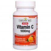 Nature's Aid Vitamin C 1000mg Low Acid Tablets 30