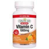 Nature's Aid Vitamin C 1000mg Time Release Tablets 40