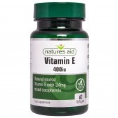 Nature's Aid Vitamin E 400iu Natural Form Softgels 60