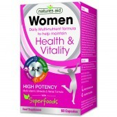 Nature's Aid Women's Multi-Vitamins & Minerals (with Superfoods) Capsules 60