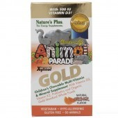 Nature's Plus Animal Parade Gold Chewable Multi Orange Flavour 60