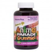 Nature's Plus Animal Parade Gummies Assorted Flavour 75