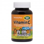 Nature's Plus Animal Parade Sugar Free Vitamin C Chewable 90