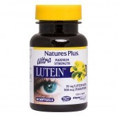 Nature's Plus Ultra Lutein 20mg Softgels 60