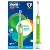 Oral-B Junior Green Rechargeable Toothbrush Age 6 Plus