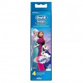 Oral-B Stages Power Kids Frozen Brush Heads Pack of 4