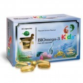 Pharmanord BIOmega-3 Kids Fish Oil 1000mg Caps 80