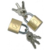 Travel Blue Brass Padlock (Pack of 2)