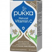 Pukka Natural Vitamin C Capsules 60