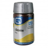 Quest Vitamins L-Glutamine 500mg Caps 120