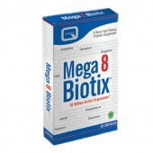 Quest Vitamins Mega8Biotix Caps 30