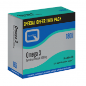 Quest Vitamins Omega 3 Fish Oil Caps 180
