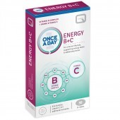 Quest Vitamins Once A Day Energy B+C Tabs 30