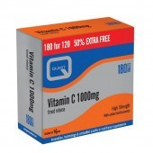 Quest Vitamins Vitamin C 1000mg Timed Release (Twin Pack 2X90) Tabs 180
