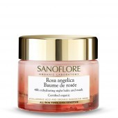 Sanoflore Baume De Rosee Hyaluronic Acid 48hr Rehydrating Night Balm 50ml