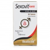 HealthAid Sex-O-Vit Forte Tablets 30