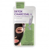 Skin Republic Detox Charcoal Face Mask Sheet 25ml