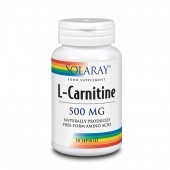 Solaray Free Form L-Carnitine 500mg Capsules 30