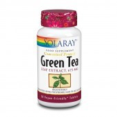 Solaray Green Tea 675mg Tablets 30