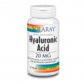 Solaray Hyaluronic Acid 20mg Capsules 30