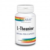 Solaray L-Theanine 200mg Capsules 30
