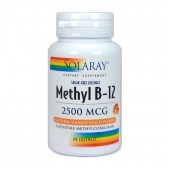 Solaray Methyl-B12 Lozenges 60